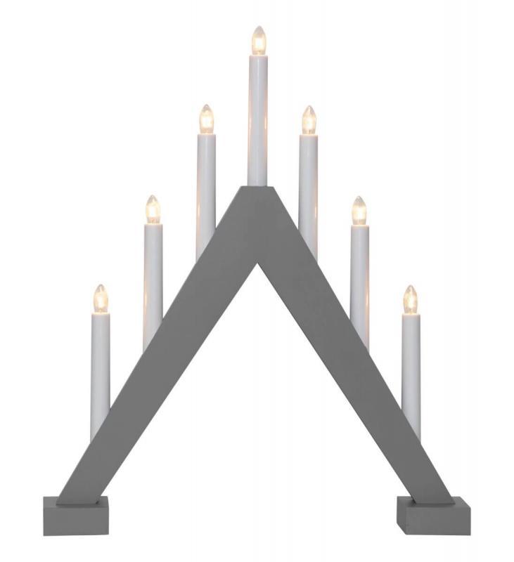 TRILL Ljusstake 47cm Grå