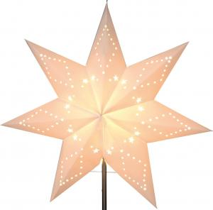 Katabo lös Pappersstjärna 43cm Vit