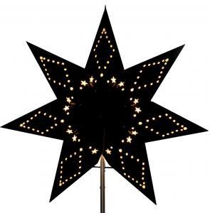 stjärna att sätta på lampfot