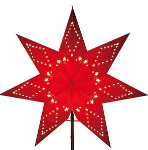 Katabo Lös Pappersstjärna 43cm Röd