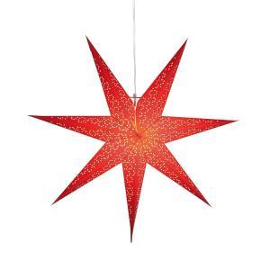 DOT Pappersstjärna 70cm Röd