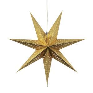 DOT Pappersstjärna 70cm Guld