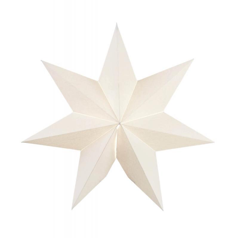 FROZEN Pappersstjärna 34cm Vit