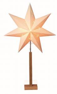 Karo Stjärna på fot 100cm Vit