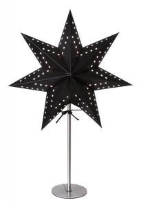 BOBO Stjärna på fot 51cm Svart