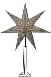 HUSS Stjärna på fot 85cm Grå