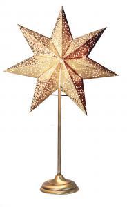 Antique Stjärna på fot Guld