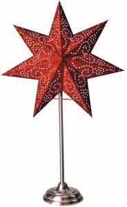 Antique Stjärna på fot Röd