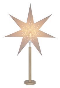 ELICE Stjärna på fot 85cm Natur