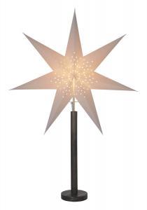 ELICE Stjärna på fot 85cm Brun