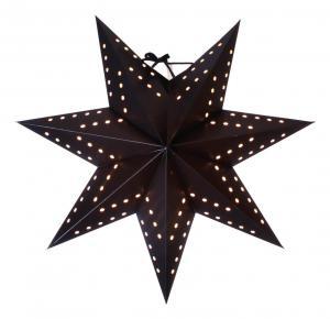 BOBO Pappersstjärna 34cm Svart