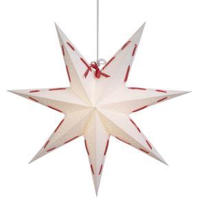 ELVIRA Pappersstjärna 48cm Vit