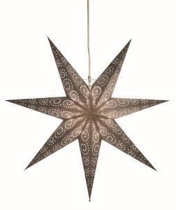 Antique Pappersstjärna 60cm Silver