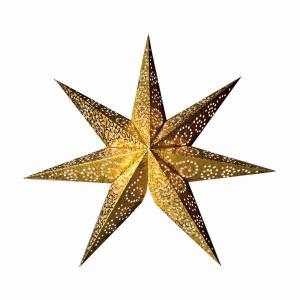 Antique Pappersstjärna 48cm Guld