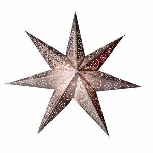 Antique Lös Pappersstjärna 48cm Silver