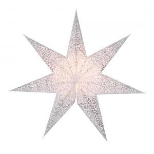 Antique Lös Pappersstjärna 48cm Vit