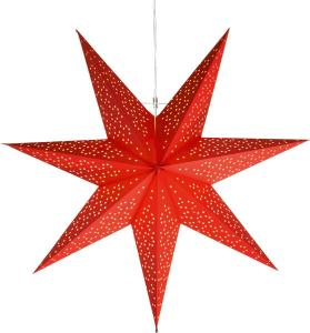 DOT Pappersstjärna 54cm Röd