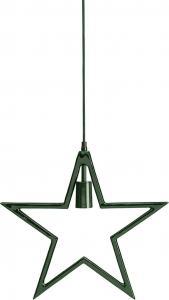 CARLA Hängande Stjärna 44cm Grön