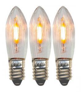 E10 Reservlampa Universal Topplampa 3-Pack 14-55V AC LED