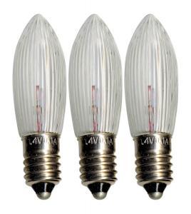 E10 Reservlampa Topplampa 3-Pack 1,4V Klar