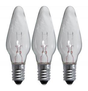 E10 Reservlampa Topplampa 3-Pack 34V Klar