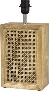 CEYLON Lampfot 40cm Vintage Brun