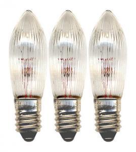 E10 Reservlampa Topplampa 3-Pack 12V Klar