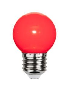 E27 PC Cover Klot 1W LED-Lampa