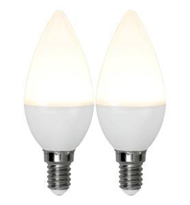 E14 2-pack Promo Kronljus 3W 3000K 250lm LED-Lampa