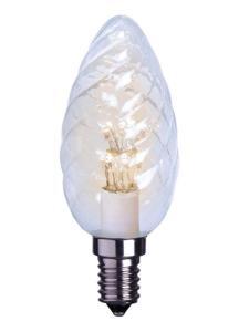 E14 Decoline Kronljus 0.9W 2600K 55lm LED-Lampa
