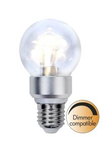 E27 Crystal Normal 5W 2700K 420lm LED-Lampa