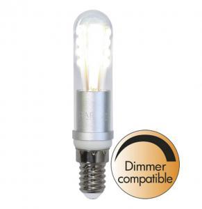 E14 Crystal Rörlampa 3W 2700K 220lm LED-Lampa