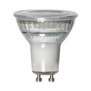 GU10 MR16 Spotlight Glass 7W 2700k 600lm LED Lampa