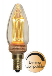 E14 New Generation Classics Kronljus 2.3W 2000K 70lm LED-Lampa