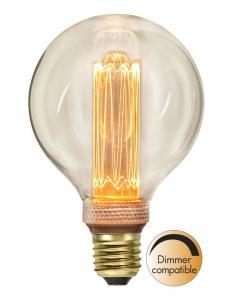 E27 New Generation Classics Glob95 2.5W 2000K 90lm LED-Lampa