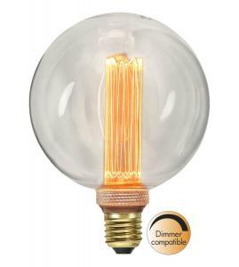 E27 New Generation Classic Glob125 2.5W 2000K 90lm LED-Lampa