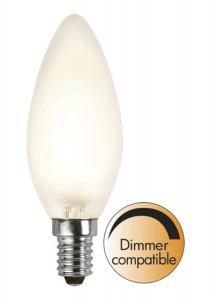 E14 Frostad Kronljus 4W 2700K 320lm LED-Lampa