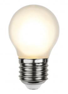 E27 Frostad Klot 1.5W 2700K 150lm LED-Lampa