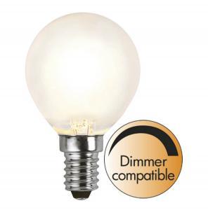 E14 Frostad Klot 4W 2700K 350lm LED-Lampa