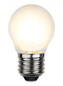 E27 Frostad Klot 4W 2700K 450lm LED-Lampa