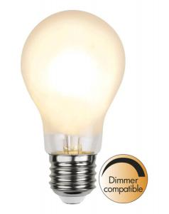 E27 Frostad Normal 7W 2700K 810lm LED-Lampa