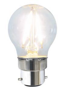 B22 Klot 2W 2700K 150lm LED-Lampa