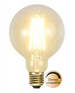 E27 SoftGlow Dimbar Glob95 3.6W 2100K 320lm LED-Lampa