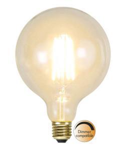E27 SoftGlow Dimbar Glob125 3.6W 2100K 320lm LED-Lampa
