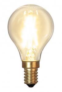 E14 SoftGlow Klot 1.5W 2100K 120lm LED-Lampa