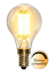 E14 SoftGlow Dimbar Klot 4W 2100K 350lm LED-Lampa