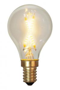 E14 SoftGlow Klot 0.5W 2100K 30lm LED-Lampa
