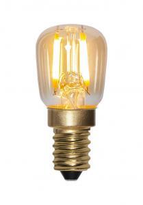 E14 Amber Päronlampa 0.5W 2000k 30lm LED-Lampa