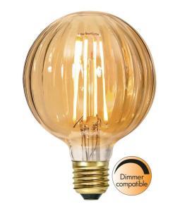 E27 Decoled Glob95 2.5W 2000K 150lm LED-Lampa