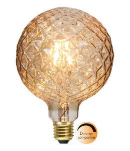 E27 Decoled Glob125 2.2W 2100K 150lm LED-Lampa